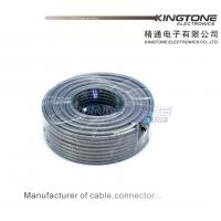 CATV Outdoor RG6 Coaxial Cable with Compression Connector in 25M RoHS Standard