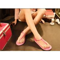 Best Pink Brown Fashion Flip Flops Fashion Espadrille Style Shoes Open Toe wholesale