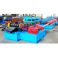 Buy cheap Automatic Highway Guardrail Roll Forming Machine With 10 Ton Hydraulic De-Coiler from wholesalers