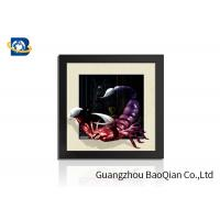 Best PVC / MDP Frame 3D 5D Pictures Different Animal Patterns Wall Decoration wholesale
