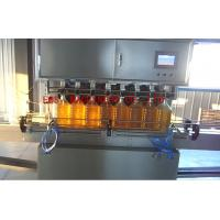 Quality SUS316 Sesame Oil Auto Filling Machine 1500bph CE ISO Certificated wholesale