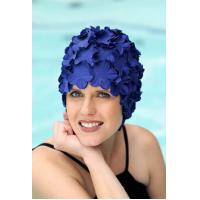 Cheap Luxury Divas Latex Vintage Style Bathing Cap for sale