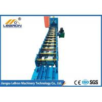 Best U C Channel Profile Roll Forming Machine GCR15 Mold Steel With Quenched Treatment wholesale