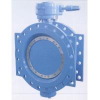 Double Flanged Resilient Seated AWWA C 504 Butterfly Valves With Gear Box And Handwheel