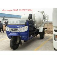 China chinese 3 wheel 2 cubic meters concrete mixer truck on sale