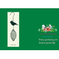 """Best Bird Feeder Garden Plant Accessories Product size 13""""H Texture of material Spray Pack size (cm)L 36 MOQ 5000 china wholesale"""