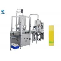 Best Stainless Steel Lip Balm Making Machine With 4 Nozzles 40-60pcs/Min wholesale