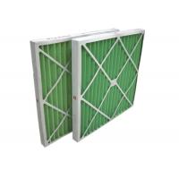 Cheap Disposable Z - Line Pleated Panel Air Filters , Industrial Air Purifier With for sale