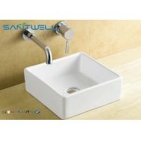 Best Ceramic Counter Top Wash Basin Sanitary Ware Factory Sink 380*380*135 mm Countertop Washbasin wholesale