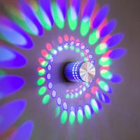 Best 3W interior RGB Pure aluminum modern LED wall light/LED decoration light  for corridor and for showroom used wholesale