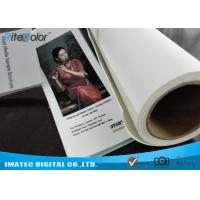 Best Large Format 420gsm Inkjet Cotton Canvas Matte for Canon Plotters wholesale