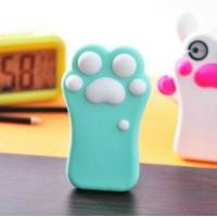 Best factory price  silicon 3d soft cat claw cell phone case for iphone4s /5/5s wholesale