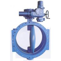 Cheap Double Flanged Resilient Seated AWWA C 504 Butterfly Valves With Gear Box And Handwheel for sale