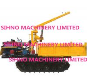 Cheap Manufacturer Supply Crawler Lorry-Mounted Crane, Paddy Field Truck, Farm Transporter, Crawler Crane for sale