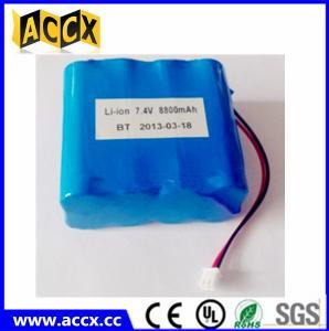 Best 2S4P 18650 7.4v 8800mah li-ion battery pack for communications equipment wholesale