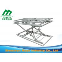 Best High Efficiency Sofa Making Machine Smoothly Adjustable Rotary Scissor Lifting Table wholesale