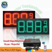 """Best 8""""  Red 7 Segment LED Petrol Station Price Display for Outdoor Usage wholesale"""