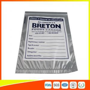 Best Custom Printed Zip Lock Safeguard Specimen Bag For Medical / Laboratory wholesale