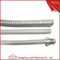 "Cheap Heavy Duty High Temp Flexible Electrical Conduit PVC Coated With 1/2"" to 4"" Size for sale"