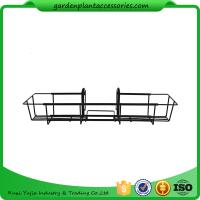 Best 24 Inch Black Hanging Garden Baskets With Adjustable Hanging Brackets Product Dime 7.7 x 24 x 5 inches 1.9 pounds wholesale