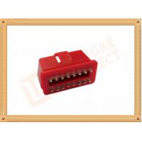 Best RED 16 Pin Obd Connector Replacement Obd Ii Connector CK-SOM002B wholesale