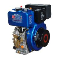 Best Portable 408cc Air Cooled Diesel Engine With Pressure Splashed Lubricating System wholesale