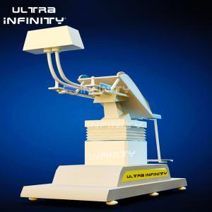 Best 2500W VR Flight Simulator / Dynamic Platform 9D Vr Cinema With 1 Seat wholesale