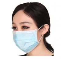 China Disposable PP Non Woven 3 Ply Surgical Face Mask With Ear-loop on sale