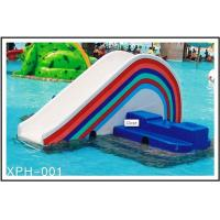 Details of commercial rainbow bridge fiberglass water park - Commercial swimming pool water slides ...