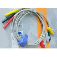 Best Din Style IEC Safety 3 Leads ECG Monitor Cable And Leadwires Compatible All Brand wholesale