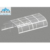 Best 120km/h Wind Flame Retardant 10x20m Aluminum Frame Party Tent , Luxury All Season Customized PVC Color wholesale