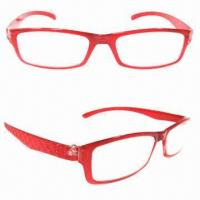 Buy cheap Optical Frames, Made of Polycarbonate, Free Personalize Logo, Suitable for Women from wholesalers
