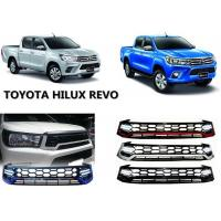 Best Upgrade Front Grille with Daytime Running Light for Toyota Hilux Revo 2015 2016 wholesale