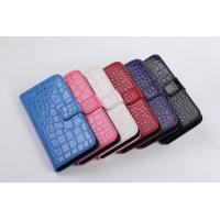 Best For Iphone Crocodile grain design Magnetic Holster Flip Leather Hard Phone wholesale