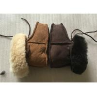 Best 100% Handmade 15cm Real Sheepskin Wool Baby Booties For Outdoor wholesale