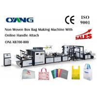 Best Multifunctional Automatic Non Woven Bag Making Machine Computerized 18 KW wholesale