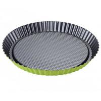 Best Non-Stick Carbon Steel Round Quiche Baking Cake Tart Pan Cake Tin Plated Steel Flan wholesale