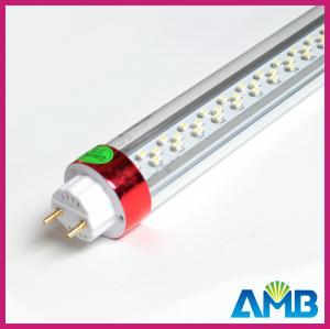 Best 12W 3200K / 6500K White 3528 SMD Led T8 Fluorescent Tube Lights wholesale