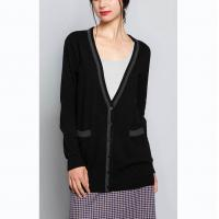 China Jersey Plus Size Cardigan Sweaters , Summer Womens Long Cardigan Sweaters on sale