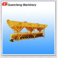 Quality Concrete Batching Plant Concrete Mixer Machine With Pneumatic Valve Belt Conveyor wholesale