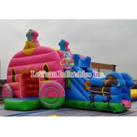 Best Cinderella Inflatable Bounce House / Theme Bouncy Castle Inflatable wholesale