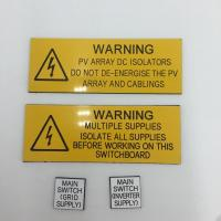 Best ABS Warning Custom Printed Plastic Signs Customised Size Widely Use wholesale