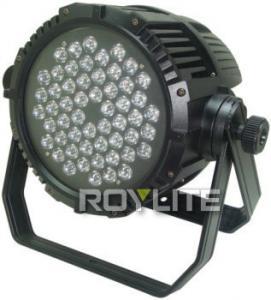 Best Outdoor DMX Control LED CT 54 x 3w LED Par Cans Color Temperature 3200K - 6300K wholesale
