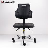 Buy cheap Polyurethane Foam Ergonomic ESD Chairs Non Slip Surface 5 Star Electroplating from wholesalers