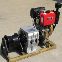 Best Small / Big Model Marine Winch Durable With 600KN~4500KN Drum Brake Load wholesale