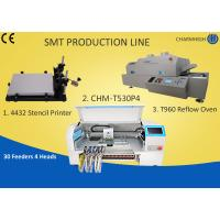 Quality Manual SMT Production Line Solder Paste Stencil Printer , PCB Assembly Line Batch production wholesale