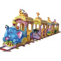 Best KAIQI Amusement Park Train , Molded Surface Train Rides For Kids Customized Dimension wholesale