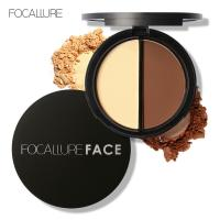 China FOCALLURE Best Skin Bronzer Repair Powder Coating For Face Wholesales Direct From China on sale