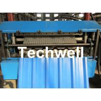 Best Manual / Automatical Type Double Roof Roll Forming Machine For Metal Roofing, Sheet Roof wholesale