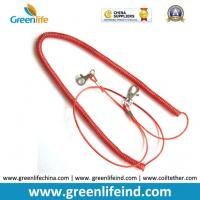 Best Red Stopdrop Tooling Coil Lanyard Cable W/Thumb Hook wholesale